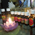 Picture of essential oils in use at A Holistic Healing Centre North Ryde