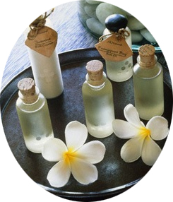 Products used for Aromatherapy at holistic healing center