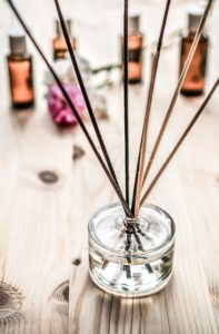 fragrance oil in a diffuser, used for scent purposes only